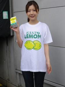 レモン牛乳Tシャツ