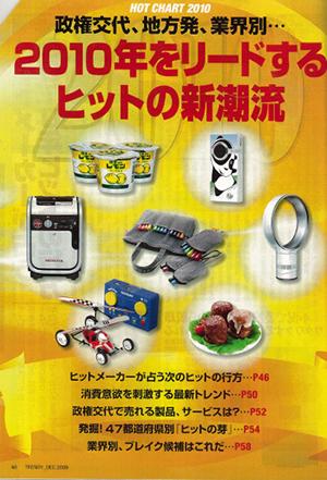 雑誌「日経トレンディ」でレモン牛乳が紹介されました