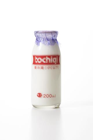 栃木3.5牛乳(ビン180ml)