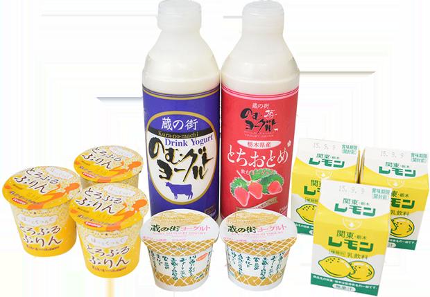 栃木乳業Web限定ギフトセット