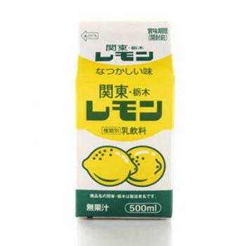 関東・栃木レモン(レモン牛乳)500ml×6個